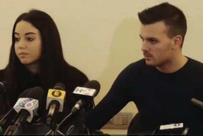 Vincenzo Forti e Giorgia Galassi