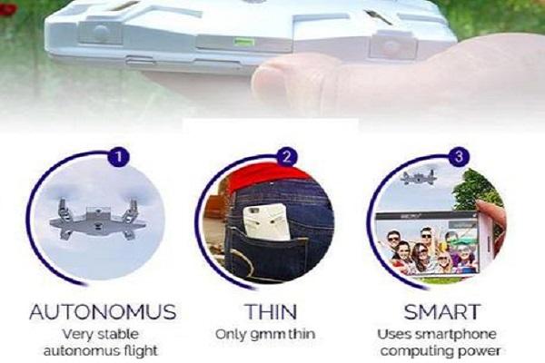 Selfly: la cover per il cellulare con il drone per scattare selfie in volo