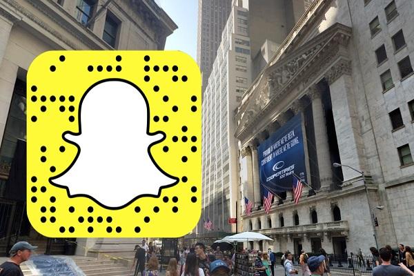 Snapchat quotata in Borsa, visualizzazioni in calo