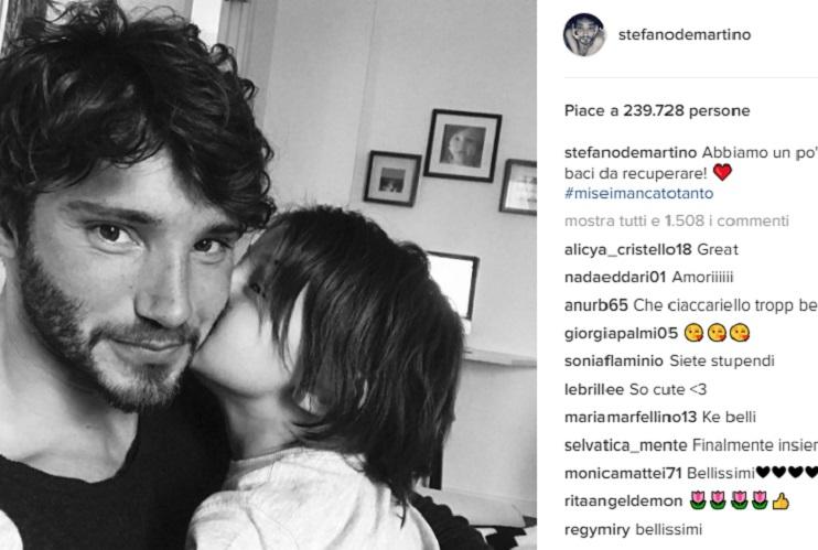 Stefano De Martino Instagram colpa Belen Rodriguez Santiago