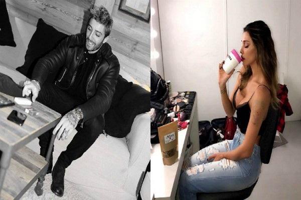 Belen Rodriguez e Andrea Iannone Instagram