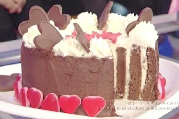 torta di San Valentino di Natalia Cattelani: ricetta La Prova del Cuoco di oggi 13 febbraio 2017