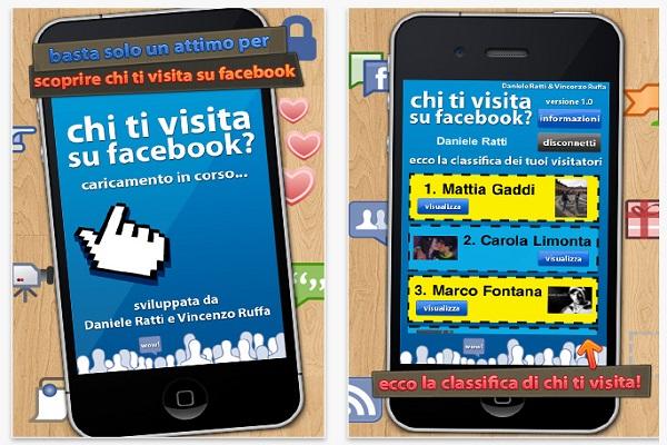 Chi visita il tuo profilo Facebook
