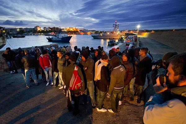 Lampedusa-arrestato-trafficante-di-uomini