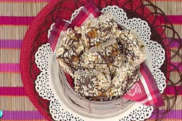 Ricette sprint La Prova del Cuoco del 3 marzo 2017: barrette dolci al cioccolato, info ingredienti e preparazione