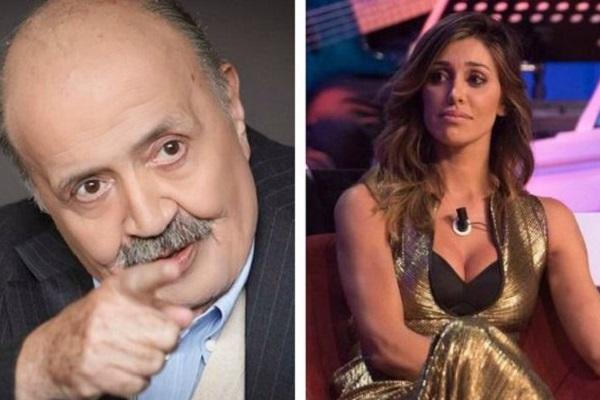 Belen Rodriguez al Maurizio Costanzo show: la frecciatina del conduttore