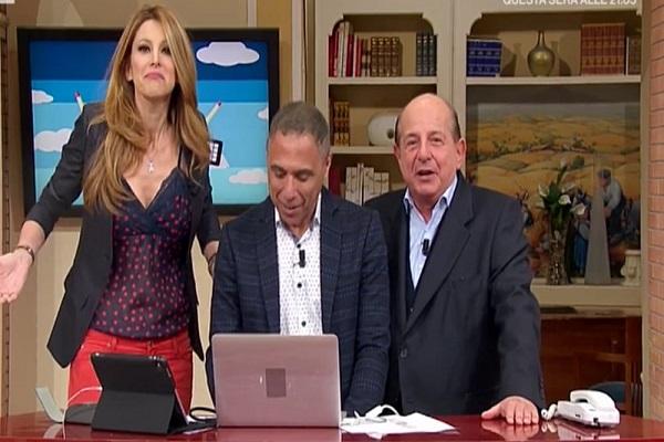 Adriana Volpe Giancarlo Magalli I Fatti Vostri rinnovo contratto Rai