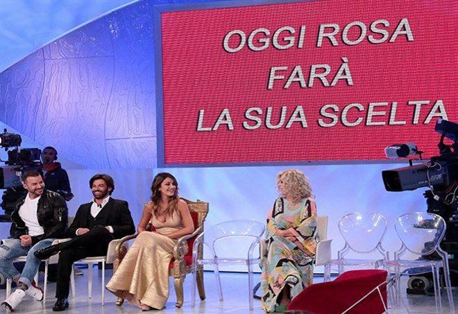 scelta Rosa Perrotta Uomini e donne trono classico
