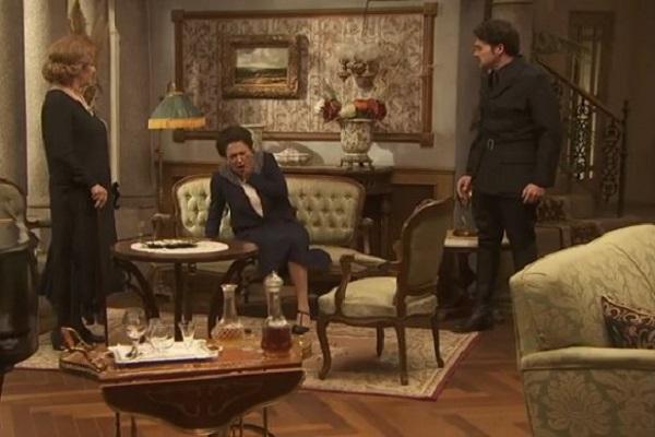 Il Segreto anticipazioni: perché Cristobal minaccia Donna Francisca?