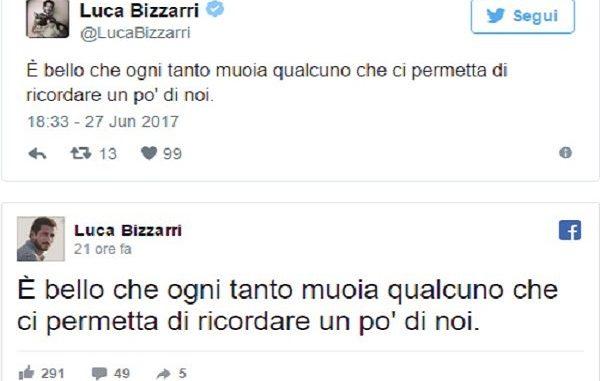 Luca Bizzarri Twitter: bufera social dopo i messaggi sulla morte di Paolo Limiti