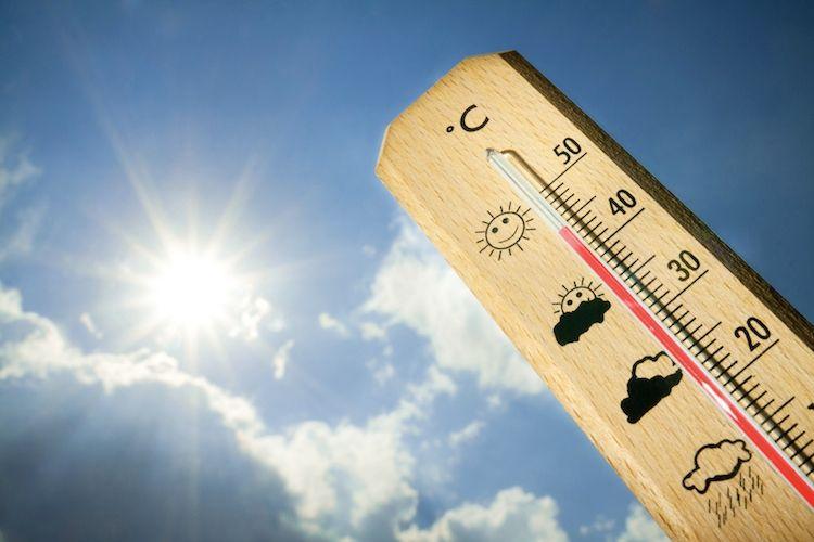 meteo caldo record