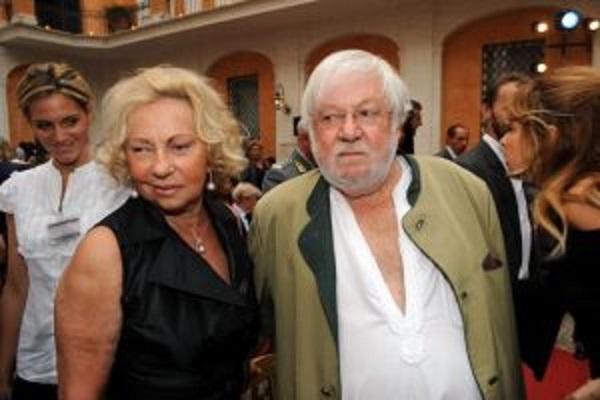 Paolo-Villaggio-moglie-Maura-Albites-