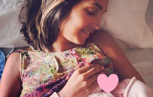 Caterina Balivo è diventata mamma della piccola Cora