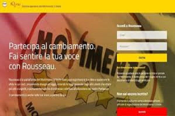 M5S dice stop alle votazioni on line