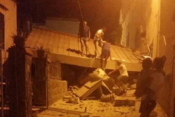 Casamicciola comune colpito dal sisma del 21 agosto 2017