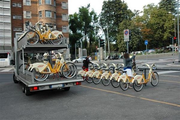 bike sharing milano