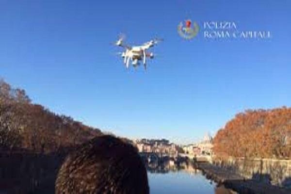 drone in vaticano roma