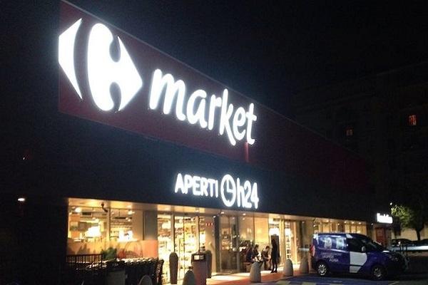 Carrefour 24h supermercati aperti giorno e notte
