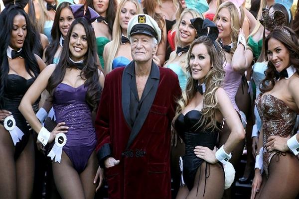 Hugh Hefner morto 91 anni Playboy conigliette