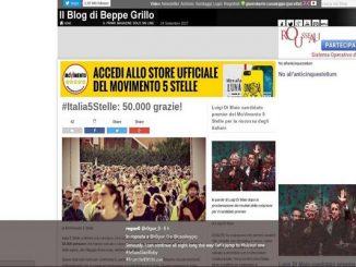 M5S hacker blog Beppe Grillo Gianroberto Casaleggio