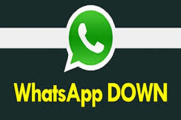 WhatsApp Down perchè non funziona