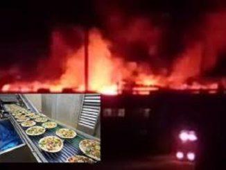 incendio Roncadin Spa Meduno Pordenone