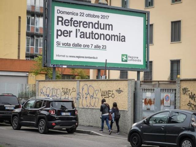referendum autonomia Veneto e Lombardia vince Sì