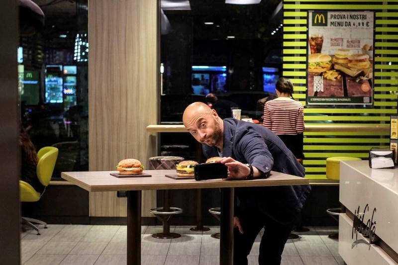 Collaborazione Mc Donald's e Joe Bastianich per una linea di panini