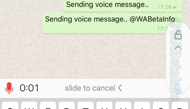 WhatsApp aggiornamento messaggi vocali, registrarli sarà più facile.