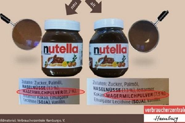 Ricetta Nutella: meno nocciole e più zucchero, la rabbia del web