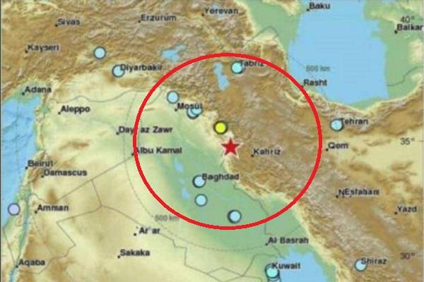 Terremoto Iran magnitudo 7,2 al confine con l'Iraq: morti e feriti