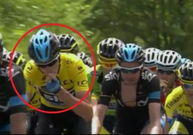 Chris Froome positivo al doping, giallo alla Vuelta
