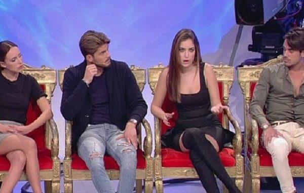 Uomini e donne, lo scontro tra Sara e Lorenzo