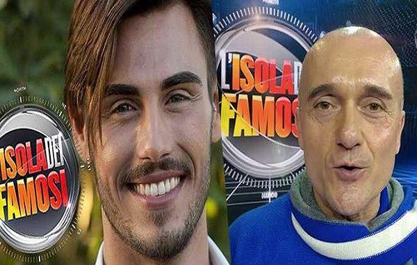 Alfonso Signorini contro Francesco Monte su Twitter