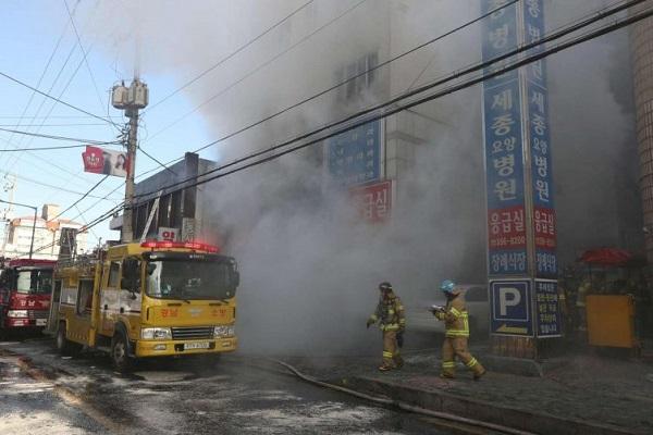 Incendio in ospedale Corea del Sud: 41 morti e 80 feriti