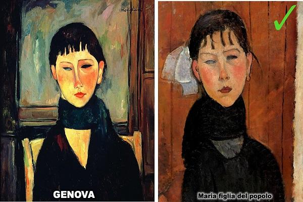 Quadri Modigliani in mostra a Genova, sono tutti falsi