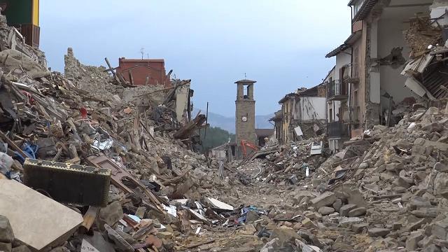 Scossa di terremoto ad Amatrice nella notte