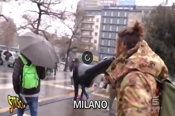 Milano, Vittorio Brumotti di Striscia La Notizia preso a sassate: perché?