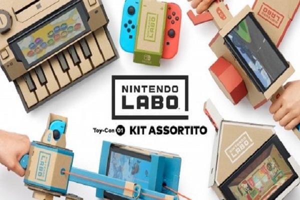 Nintendo Switch torna alle origini con Labo