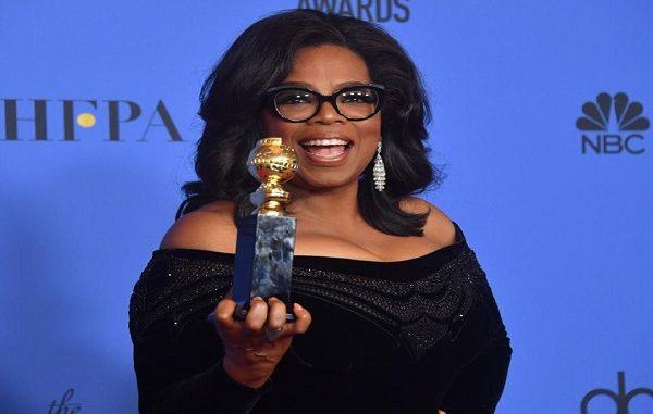 Oprah Winfrey e il #metoo ai Globes, forse corsa verso presidenza