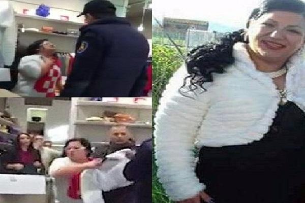 Silvian Heach contro la signora della pelliccetta a Caserta, video virale