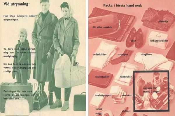 Svezia, manuali per prepararsi alla guerra distribuiti ai cittadini