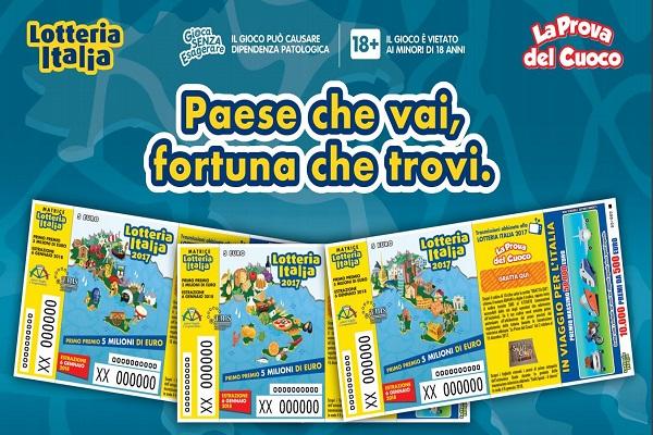 Lotteria Italia 2018 estrazione biglietti vincenti, data e orario La Prova del Cuoco