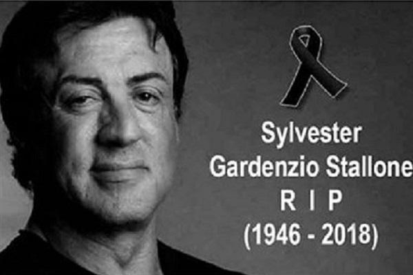 Sylvester Stallone è morto, è una bufala