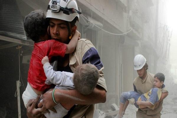 guerra in Siria Italia gas cloro raid Russia Damasco