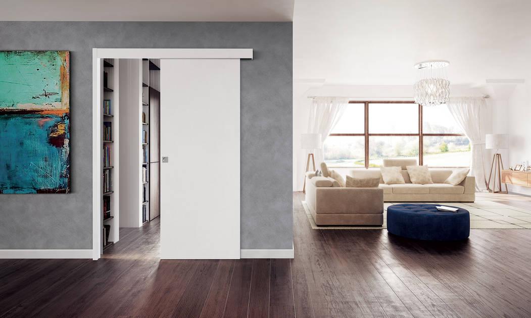 Guadagnare spazio con le porte a scomparsa for Porte per dividere ambienti