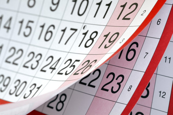 Calendario festività: 5 giorni in più per legge?