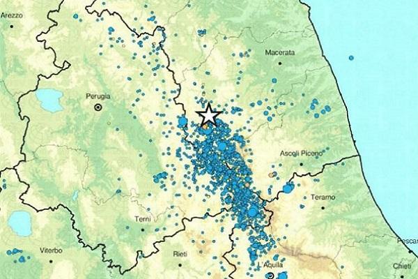 Terremoto Marche oggi, è collegato a quello del 2016?