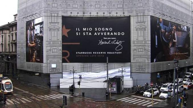Primo Starbucks in Italia: a settembre 2018 aprirà a Milano