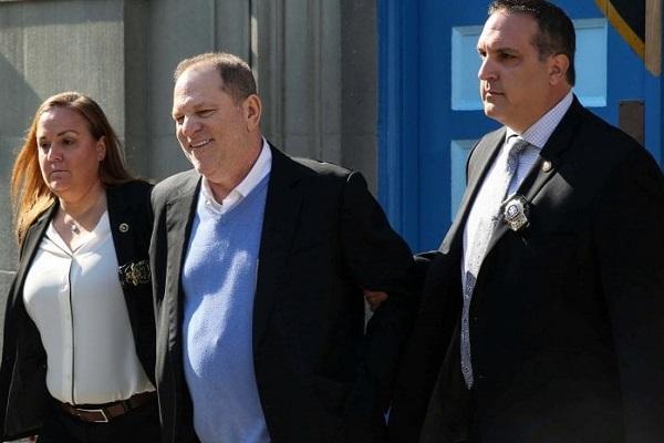 Harvey Weinstein arrestato e rilasciato su cauzione